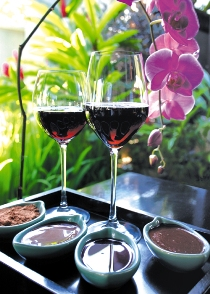 13.Spa - chocolates and wine therapy