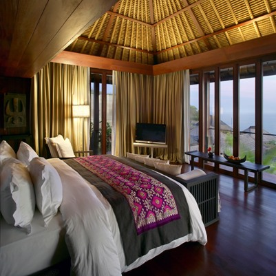 Bedroom in Ocean View Villa and Premier Ocean View Villa