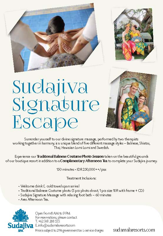 Sudajiva Promo - Signature Escape